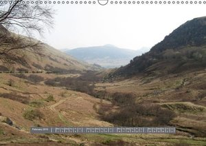 Scotlands landscape (UK Version) (Wall Calendar 2015 DIN A3 Land