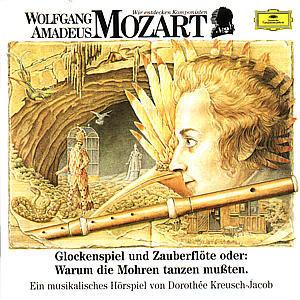 Wolfgang Amadeus Mozart. Glockenspiel und Zauberflöte. CD