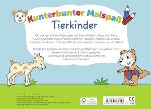 Bobo Siebenschläfer: Kunterbunter Malspaß Tierkinder