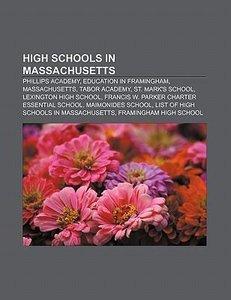 High schools in Massachusetts