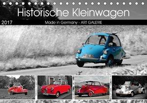 Historische Kleinwagen Made in Germany ART GALERIE (Tischkalende