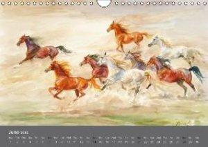 Horses in four seasons 2015 (Wall Calendar 2015 DIN A4 Landscape