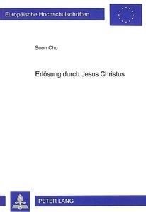 Erlösung durch Jesus Christus