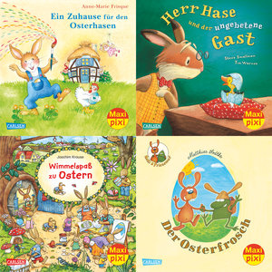 Maxi-Pixi-Serie Nr. 50: 4er Bundle: Frohe Ostern