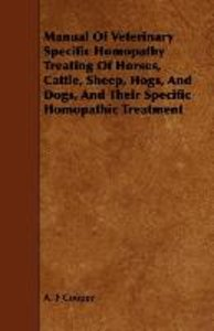 Manual Of Veterinary Specific Homopathy Treating Of Horses, Catt