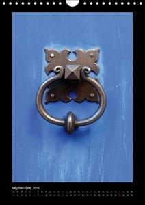Heurtoirs ou Marteaux de porte (Calendrier mural 2015 DIN A4 ver