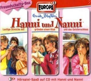 Hanni und Nanni Box 02. Folgen 4, 5, 6. Freundschaftsbox