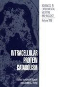 Intracellular Protein Catabolism