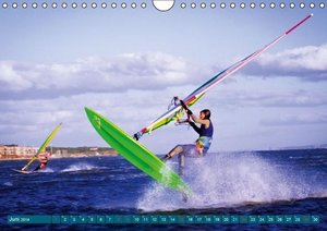 Wasser, Wind und Wellen: Surfen (Wandkalender 2014 DIN A4 quer)
