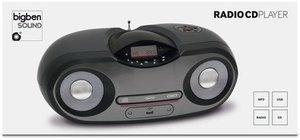 CD-Radio CD54, Top-Lader, schwarz/grau