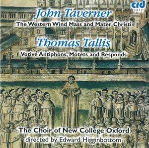 Western Wind Mass/Motetten/Antiphons