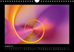 Neon Colours Vol. 2 / UK-Version (Wall Calendar 2015 DIN A4 Land