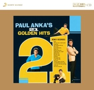 Paul Anka's 21 Golden Hits-K2HD-CD