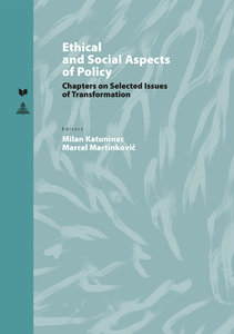 Ethical and Social Aspects of Policy