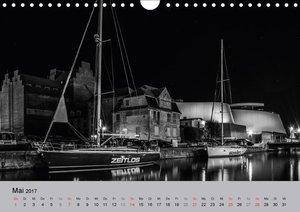 Hansestadt Stralsund bei Nacht (mit GPS-Koordinaten)
