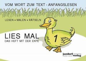Lies mal 1 - Das Heft mit der Ente. Großbuchstaben