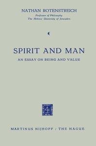 Spirit and Man