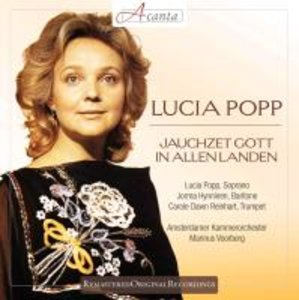 Lucia Popp: Jauchzet Gott in allen Landen