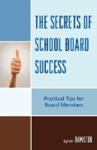 Secrets of School Board Success