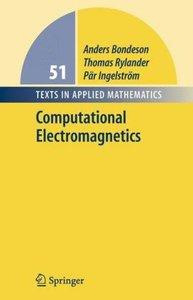 Bondeson, A: Computational Electromagnetics