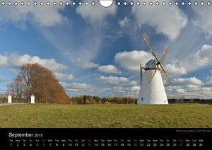 Monuments of Estonia 2015 (Wall Calendar 2015 DIN A4 Landscape)