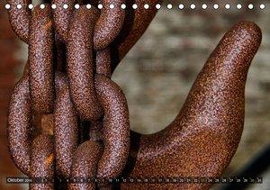 Geschlossen! Details in stillgelegten Industrieanlagen (Tischkal