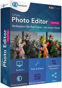 InPixio Photo Editor Home (Fotobearbeitungssoftware)