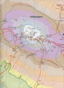 Kilimanjaro & Tanzania North 1: 62 500 / 1 : 1 370 000