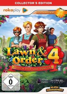 rokaplay - Lawn & Order 4 Collector's Edition. Für Windows Vista