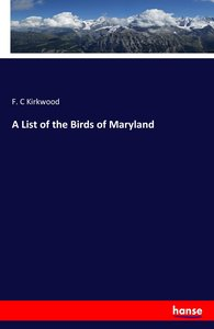 A List of the Birds of Maryland