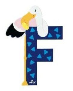 Sevi 81606 - Buchstabe: Flamingo, F