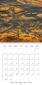 Emotional Moments: Sylt in Gold. (Wall Calendar 2015 300 &times