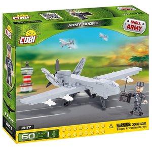 COBI 2147 - Army Drone, Small Army, grau