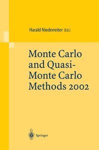 Monte Carlo and Quasi-Monte Carlo Methods 2002