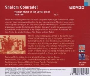 Shalom Comrade!
