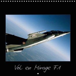 Vol en Mirage F1 (Calendrier mural 2015 300 × 300 mm Square)