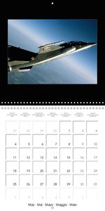 Vol en Mirage F1 (Calendrier mural 2015 300 × 300 mm Square)