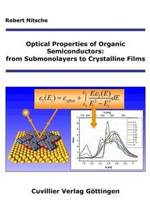 Optical properties of organic semiconductors: From (sub-)monolay