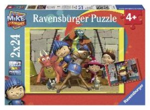 Mike der Ritter. Puzzle 2 X 24 Teile