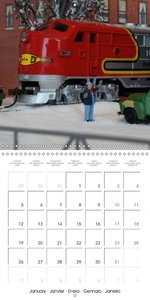 International Railway Models (Wall Calendar 2015 300 × 300 mm Sq