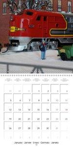 International Railway Models (Wall Calendar 2015 300 × 300 mm Sq