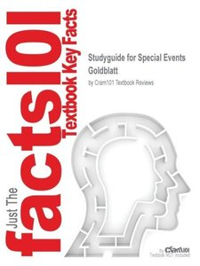 Studyguide for Special Events by Goldblatt, ISBN 9780471396871