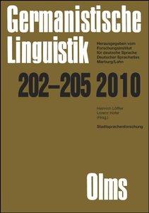 Stadtsprachenforschung - Ein Reader 1+2