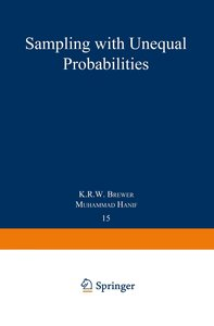 Sampling With Unequal Probabilities