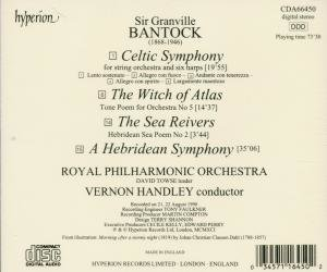 Celtic Symphony/Hebridean Symphony