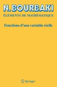 Fonctions d'une variable réelle