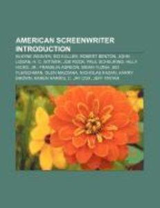 American screenwriter Introduction