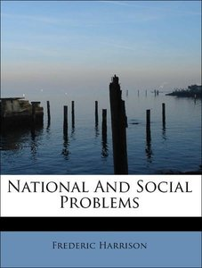 National And Social Problems