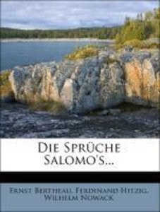 Die Sprüche Salomo's...