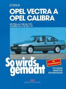 So wird's gemacht. Opel Vectra A / Opel Calibra